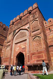 Famous Agra Fort Stock Image