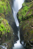 Famous Aira Force waterfall  in Lake District Royalty Free Stock Photography