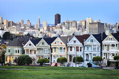 Famous Alamo square Royalty Free Stock Images