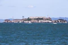 Famous Alcatraz island in San Francisco Stock Photography