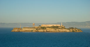 Famous Alcatraz prison in San Francisco Stock Images