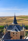 The famous Alcazar of Segovia, Castilla y Leon Stock Image