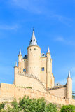 The famous Alcazar of Segovia, Castilla y Leon Royalty Free Stock Images