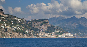 The Famous Amalfi Coast Stock Image