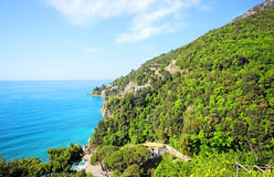 Famous Amalfi Coast. Campania, Italy Stock Photos