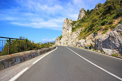 Famous Amalfi Coast. Campania, Italy Royalty Free Stock Photos
