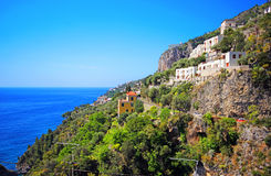 Famous Amalfi Coast. Campania, Italy Royalty Free Stock Photo
