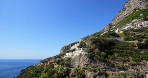 Famous Amalfi Coast. Campania, Italy Royalty Free Stock Image