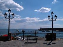 Famous Amalfi Coast Campania Italy Stock Photos
