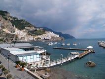 Famous Amalfi Coast Campania Italy Stock Images