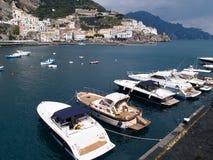 Famous Amalfi Coast Campania Italy Royalty Free Stock Photography