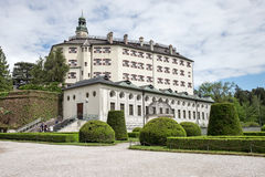 Famous Ambras Castle, Innsbruck Royalty Free Stock Photography