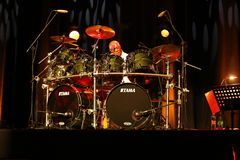 Famous American drummer Billy Cobham Stock Photography