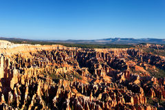 Famous amphitheater of Bryce Canyon Stock Image