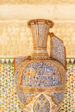 Famous amphora in Alhambra palace Royalty Free Stock Images