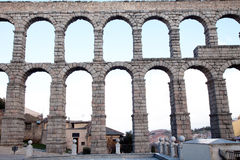 The famous ancient aqueduct Royalty Free Stock Photography