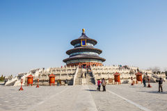 Famous Ancient Architecture Of The Temple Of Heaven In Beijing, China  Royalty Free Stock Photography