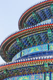 Famous  ancient architecture of the temple of heaven in Beijing, China Royalty Free Stock Photos