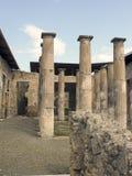 Famous ancient columns ruins Stock Photo