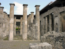 Famous ancient columns ruins Stock Images