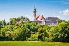 Free Famous Andechs Abbey In Summer, District Of Starnberg, Upper Bavaria, Germany Stock Photo - 169301900