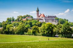 Free Famous Andechs Abbey In Summer, District Of Starnberg, Upper Bavaria, Germany Stock Photography - 169774112