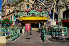 Arc Bar, Las Vegas, NV. Famous Arc Bar at Paris Hotel Casino in Las Vegas, NV Stock Images