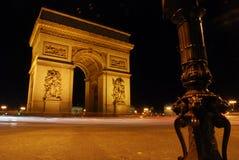 Famous Arc de Triomf a Parigi Immagini Stock Libere da Diritti