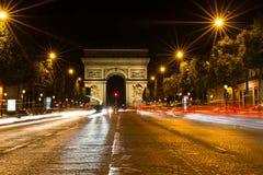 Famous Arc de Triomphe στο Παρίσι, Γαλλία Στοκ Εικόνες