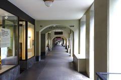 Famous arcades of Bern Stock Image