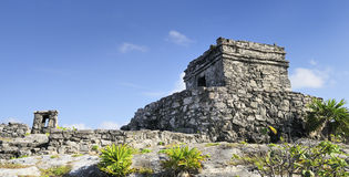 Famous archaeological ruins of Tulum, Mexico Stock Photography