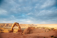 Famous arches in arches national park Moab, Utah Stock Image