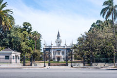 Famous architectural landmark Casa Quinta Aurelio Berro, Montevi Royalty Free Stock Photo