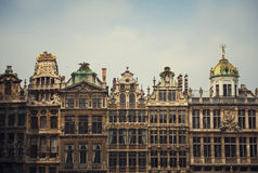 Famous architecture in Brussels, Belgium Royalty Free Stock Photography