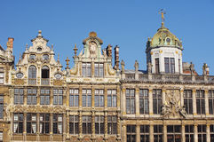 Famous architecture of Brussels Stock Photography