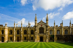The famous architecture in Cambridge University. The famous college architeture in Cambridge University Royalty Free Stock Photos