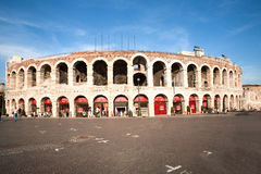 Famous arena di Verona, the old Royalty Free Stock Photos