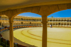 Famous arena in Ronda Stock Image