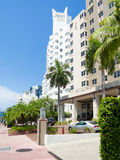 Famous Art Deco Hotels at Miami Beach Stock Image