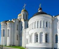 Assumption Cathedral in Vladimir, Golden Ring of Russia. The famous Assumption Cathedral in Vladimir, the Golden Ring of Russia Royalty Free Stock Images