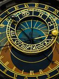 Famous astronimical clock Royalty Free Stock Image