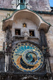 The famous astronomical Clock in Prague Stock Images