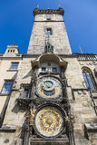 The famous Astronomical Clock, Prague Royalty Free Stock Photography
