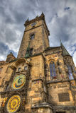 The famous Astronomical Clock, Prague Stock Photography