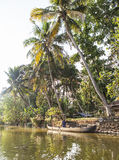 The famous backwaters Royalty Free Stock Images