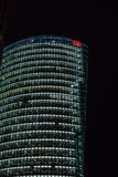 Famous BahnTower on Potsdamer Platz in Berlin Stock Images