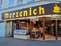 Famous bakery store in Cologne royalty free stock photography