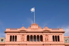Famous Balcony in Casa Rosada. Where Evita Talks People Royalty Free Stock Photo