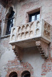 Famous balcony of Juliet Royalty Free Stock Image