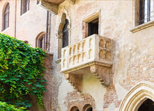 The Famous Balcony of Juliet Capulet Home in Verona Stock Photos